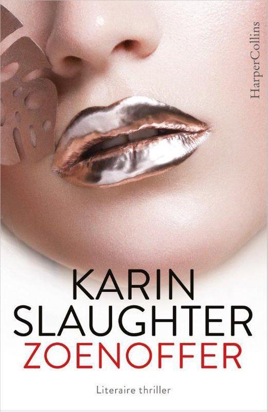 Zoenoffer Karin Slaughter wit boekcover