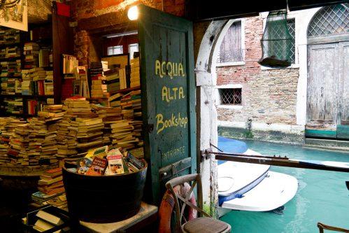 Boekwinkeltjes Venetie
