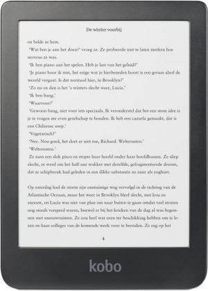 Ebooks lezen op een e-reader als vrije tijd besteding