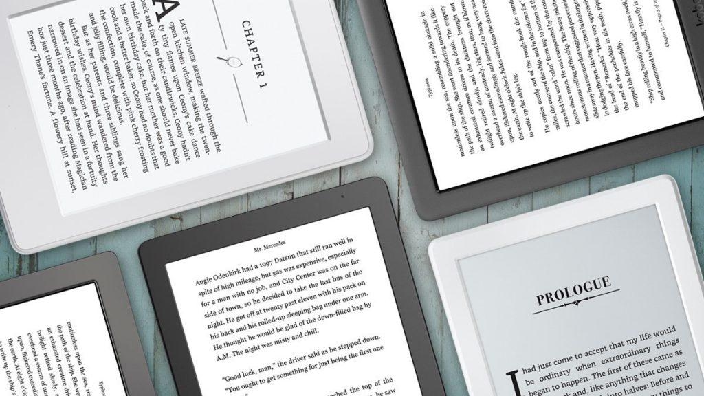 De beste ereaders merken zijn onder andere Kobo en Kindle