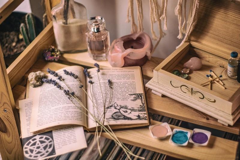 Boek in de provence met Lavendel