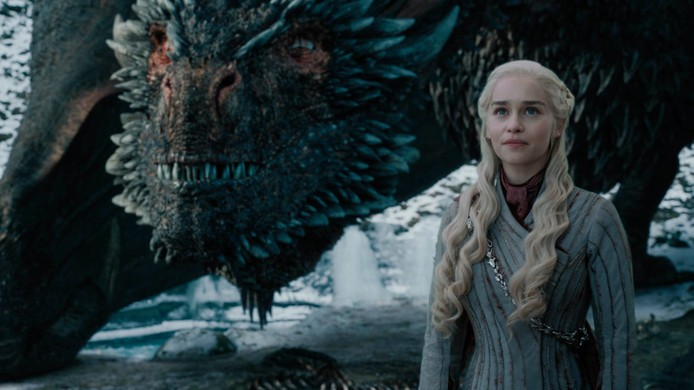 The mother of dragons game of thrones