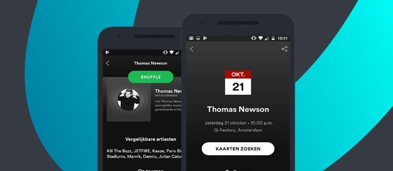 App voor muziek en podcasts