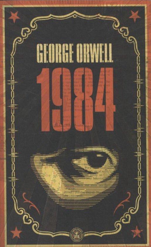 Book Cover van 1984 george orwell