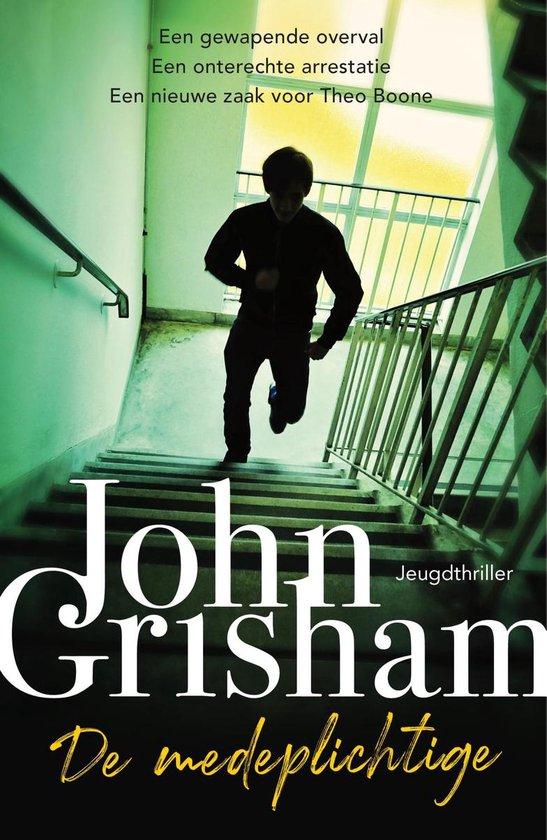 groen licht op de cover van john grishams accomplice