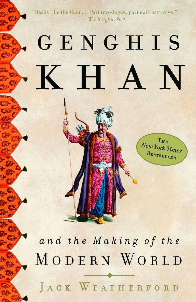New York Times Beste biografie boeken ooit Genghis Khan