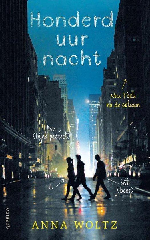 honderd uur nacht paperback boek van Anna Woltz