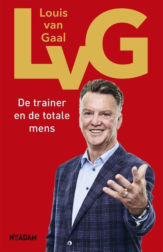 Rode Boek cover Louis van Gaal, voelboeken top 10 trainers
