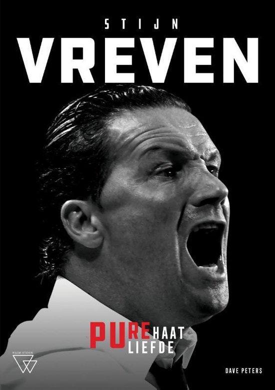 Zwarte cover boek trainer Stijn Vreven