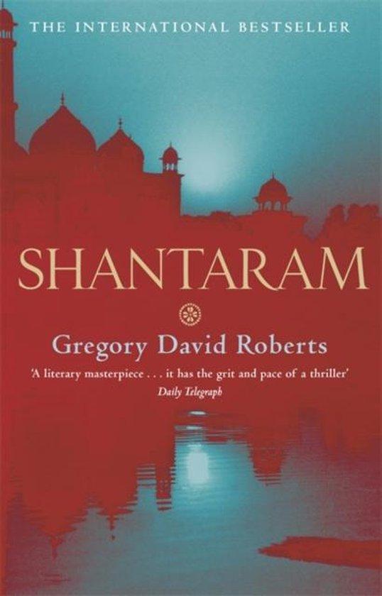green and red shantaram book cover