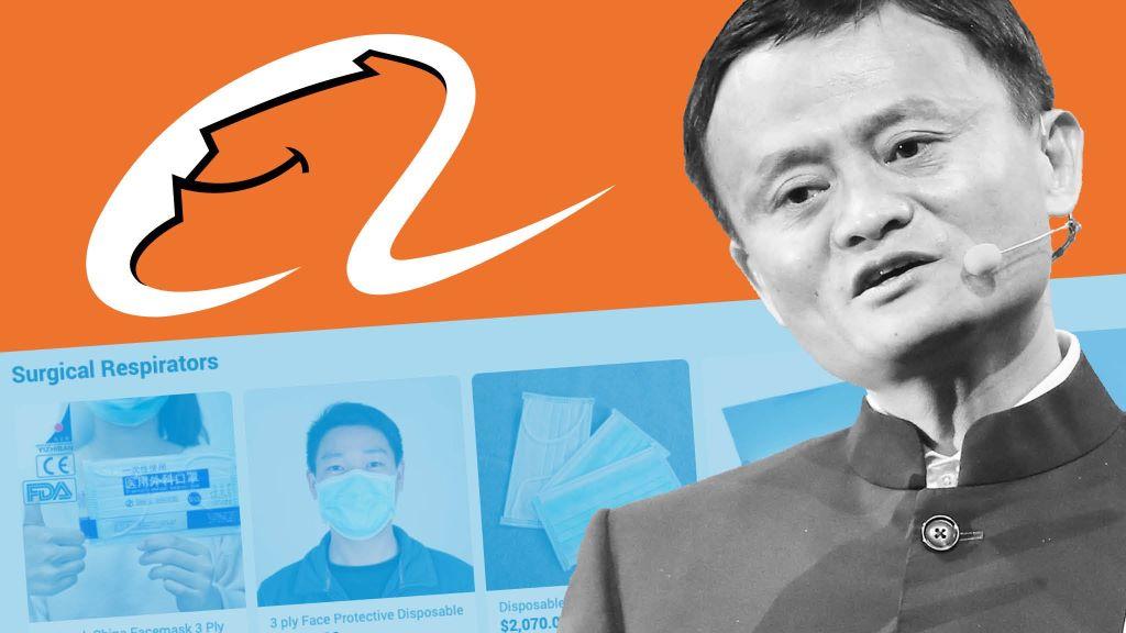 Voorbeeld van een mogelijke GARP investering Alibaba
